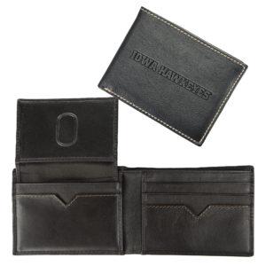 Contrast Stitch Billfold Wallet