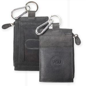 Leather Zip I.D. Holder
