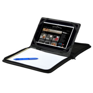 Ultimate Zippered Tablet Padfolio