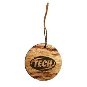 Wood Engraved Ornaments - Circle - MGIF001