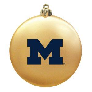Flat Shatterproof Ornaments - Michigan - MGIF002