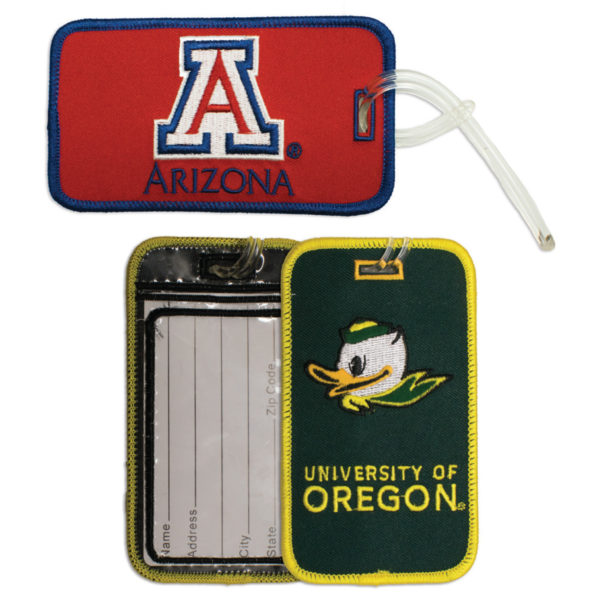 Embroidered Luggage Tag - MSKL0011
